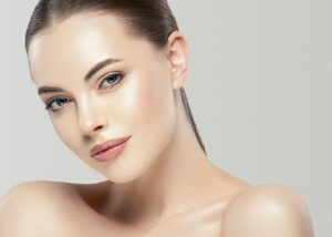 Beauty skin woman natural makeup face cosmetic concept